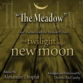 Ноты – топ-10. Alexandre Desplat – New Moon (The Meadow)