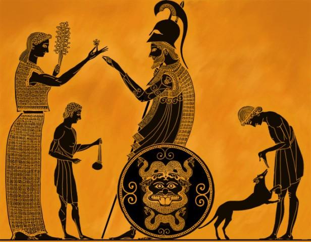 Греки и их музыка.